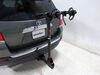 2013 toyota highlander hitch bike racks curt hanging rack fits 1-1/4 inch 2 and for hitches - tilting