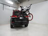 0  hitch bike racks curt hanging rack fits 1-1/4 inch 2 and 4 for hitches - tilting