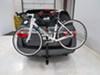 2012 honda odyssey hitch bike racks curt hanging rack tilt-away fold-up premium 4 for 2 inch hitches - tilting