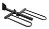 curt hitch bike racks platform rack fits 1-1/4 inch 2 and