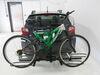 """Curt 2 Bike Platform Rack for Fat Bikes - 1-1/4"""" and 2"""" Hitches - Frame Mount - Tilting Tilt-Away Rack,Fold-Up Rack C18085-FB"""