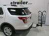 2011 ford explorer hitch bike racks curt platform rack fits 1-1/4 inch 2 and for fat bikes - hitches frame mount tilting