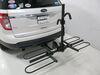 2011 ford explorer hitch bike racks curt tilt-away rack fold-up 2 bikes c18085-fb