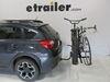 0  hitch bike racks curt tilt-away rack fold-up 2 bikes on a vehicle