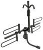 curt hitch bike racks tilt-away rack fold-up 2 bikes