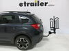 2014 subaru xv crosstrek hitch bike racks curt platform rack tilt-away fold-up 2 - 1-1/4 inch and hitches frame mount tilting