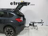 2014 subaru xv crosstrek hitch bike racks curt platform rack 2 bikes c18085