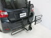 2014 subaru xv crosstrek hitch bike racks curt tilt-away rack fold-up 2 bikes on a vehicle