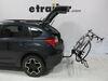 2014 subaru xv crosstrek hitch bike racks curt platform rack 2 bikes c18085