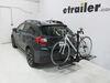 Hitch Bike Racks C18085 - 2 Bikes - Curt on 2014 Subaru XV Crosstrek