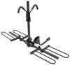 curt hitch bike racks platform rack fits 1-1/4 inch 2 and - hitches frame mount tilting