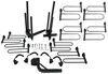 curt hitch bike racks platform rack tilt-away fold-up 4 for fat bikes - 2 inch hitches frame mount tilting