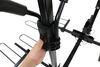 curt hitch bike racks platform rack tilt-away fold-up