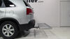 C18100 - Folding Carrier Curt Hitch Cargo Carrier on 2013 Kia Sorento