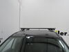 """Curt Roof Rack for Raised Side Rails - Aluminum - Black - 53-3/8"""" Long 53 In Bar Space C18118 on 2020 Nissan Pathfinder"""