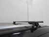 """Curt Roof Rack for Raised Side Rails - Aluminum - Black - 53-3/8"""" Long Locks Included C18118 on 2020 Nissan Pathfinder"""