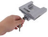 """Curt Trailer Hitch Receiver and Coupler Lock Set - 2"""" Hitches - 1-7/8"""" or 2"""" Ball Aluminum C23086"""
