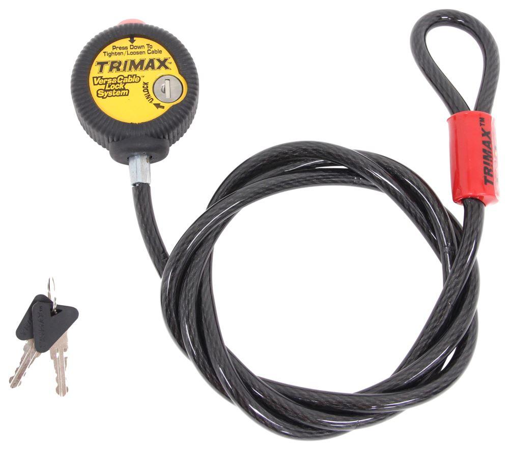 C23666 - Keyed Unique Curt Utility Lock