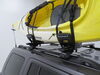 Kuat Class 2 Kayak Carrier with Tie-Downs - J-Style - Fixed Arms - 1 Kayak Side Loading C2R1B