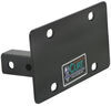 curt accessories and parts license plate holder c31002