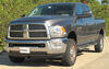 """Curt Front Mount Trailer Hitch Receiver - Custom Fit - 2"""" Square Tube C31015 on 2010 Dodge Ram Pickup"""