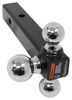 Curt Drop - None,Rise - None Trailer Hitch Ball Mount - C45001