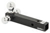 Curt Tri-Ball Mount - 3 Chrome Balls - 10,000 lbs Steel Shank C45001