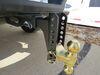 C45900 - Steel Shank - Gloss Black Curt Trailer Hitch Ball Mount