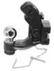C45920 - Adjustable Channel Mount Curt Pintle Hook - Ball Combo