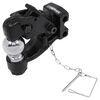 C45922 - Adjustable Channel Mount Curt Pintle Hook - Ball Combo