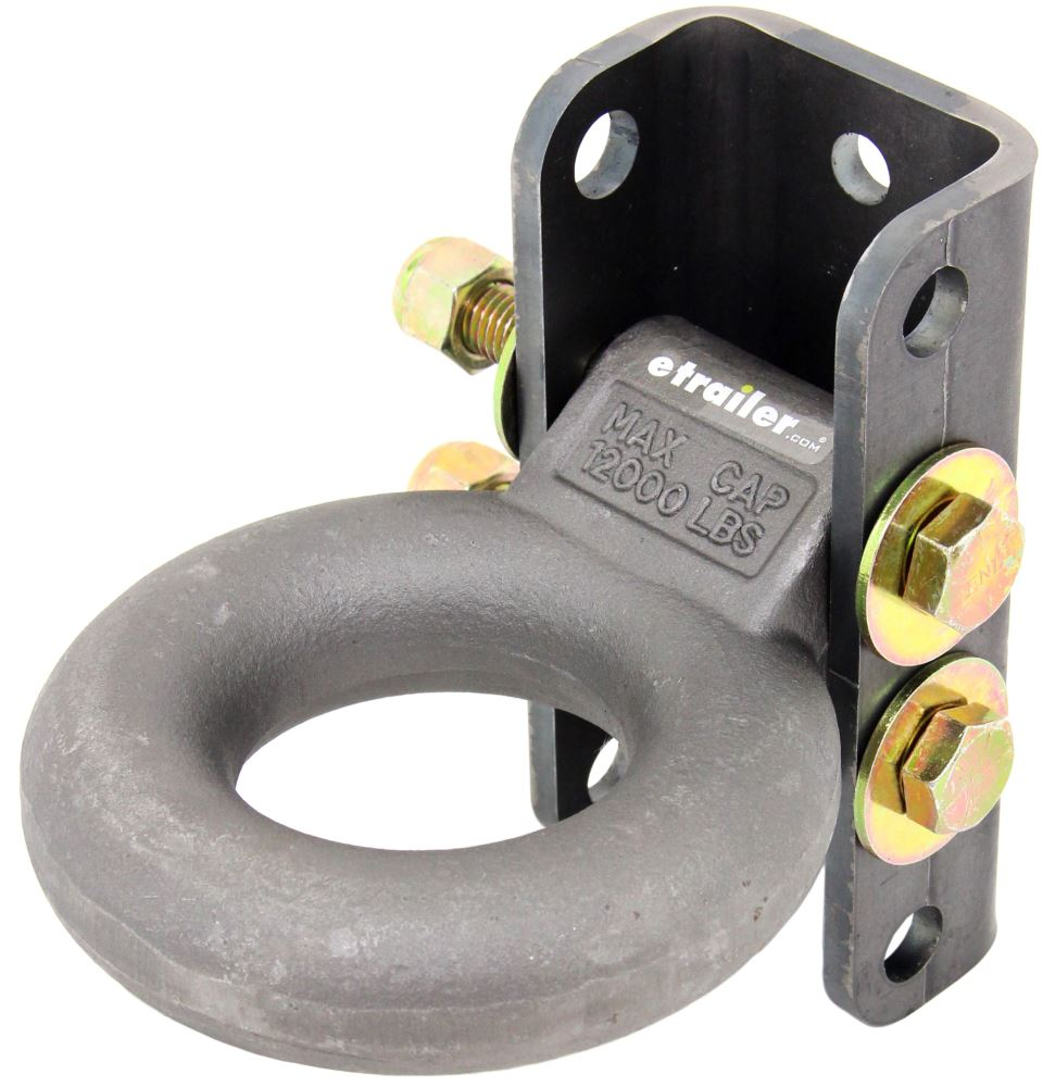 Lunette Ring C48631 - Coupler with Bracket - Curt