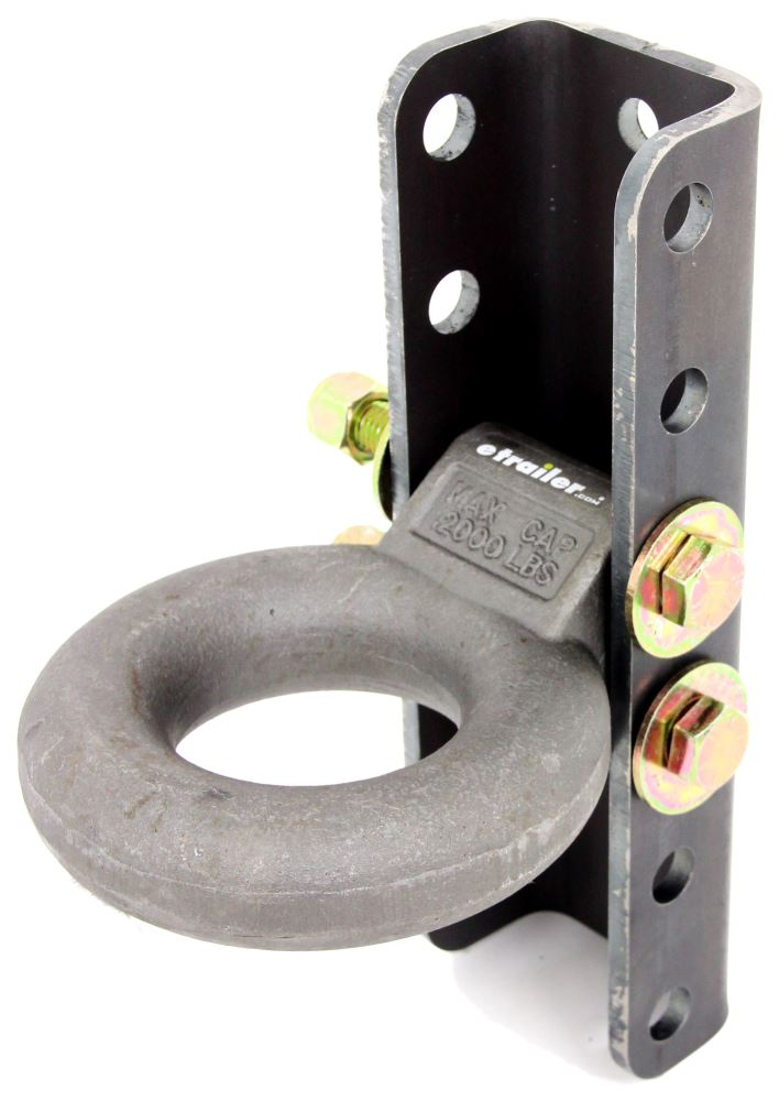 C48640 - Coupler with Bracket Curt Lunette Ring