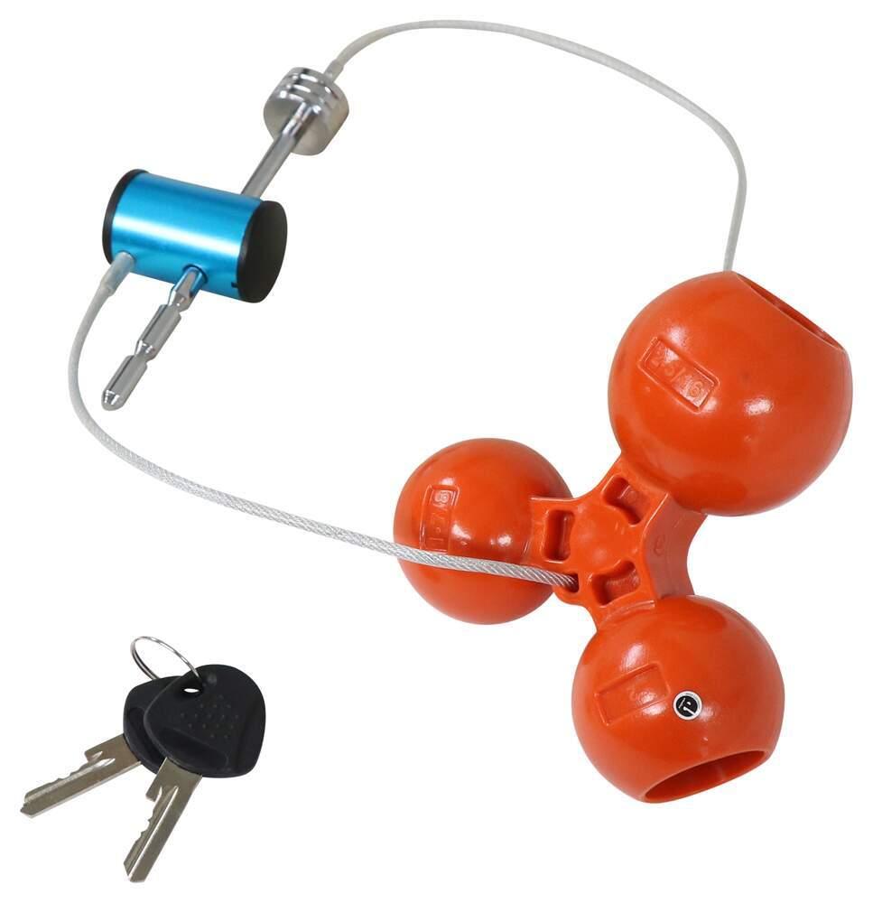 C48CR - Universal Application Lock Curt Trailer Coupler Locks