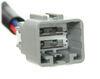 Curt Custom Wiring Adapter for Trailer Brake Controllers - Dual Plug In Plugs into Brake Controller C51438