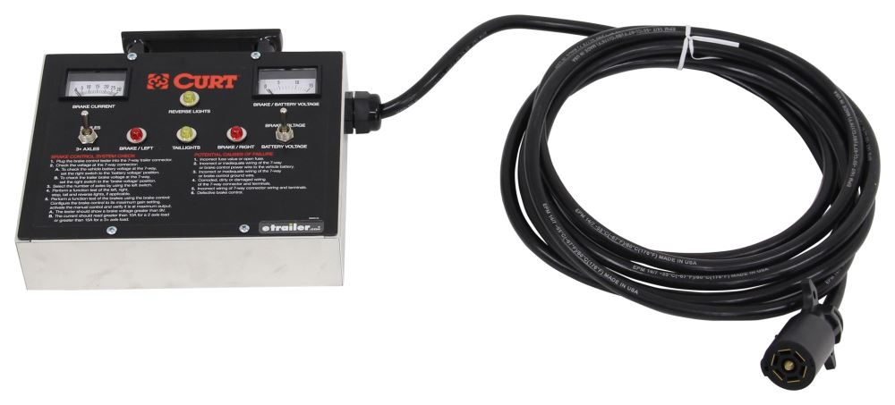 Curt Trailer Brake Controller - C51498