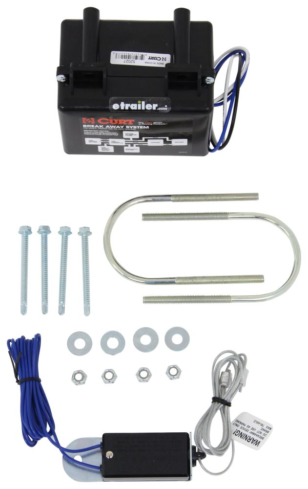 Curt Kit with Charger - C52040