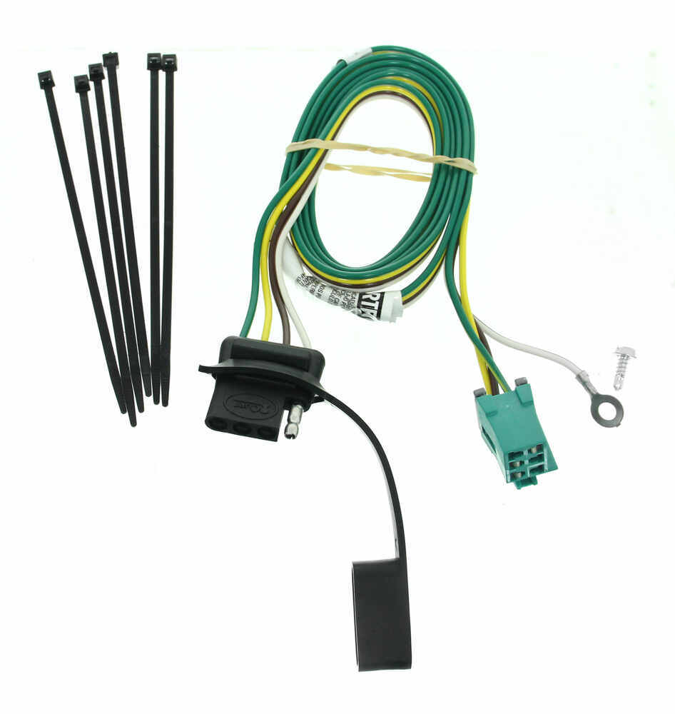 2002 Chevrolet Express Van Curt T-connector Vehicle Wiring Harness For Factory Tow Package