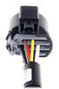 Curt T-Connector Vehicle Wiring Harness for Factory Tow Package - 7-Way Trailer Connector 7 Blade C55243