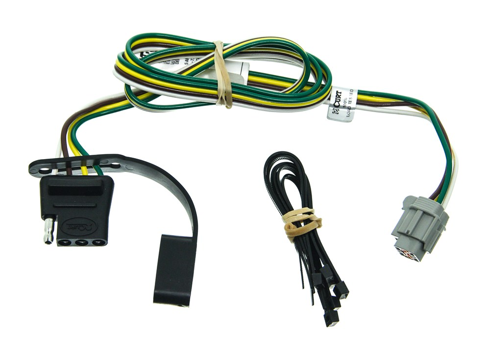 nissan xterra trailer wiring diagram curt t connector vehicle wiring harness for factory tow package  curt t connector vehicle wiring harness