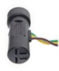 curt custom fit vehicle wiring no converter 4 flat c55311