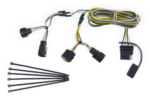 1998 Dodge Ram Pickup Curt T-Connector Vehicle Wiring ...