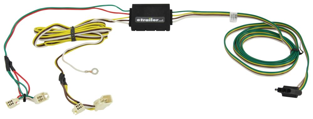 C55341 - Powered Converter Curt Custom Fit Vehicle Wiring