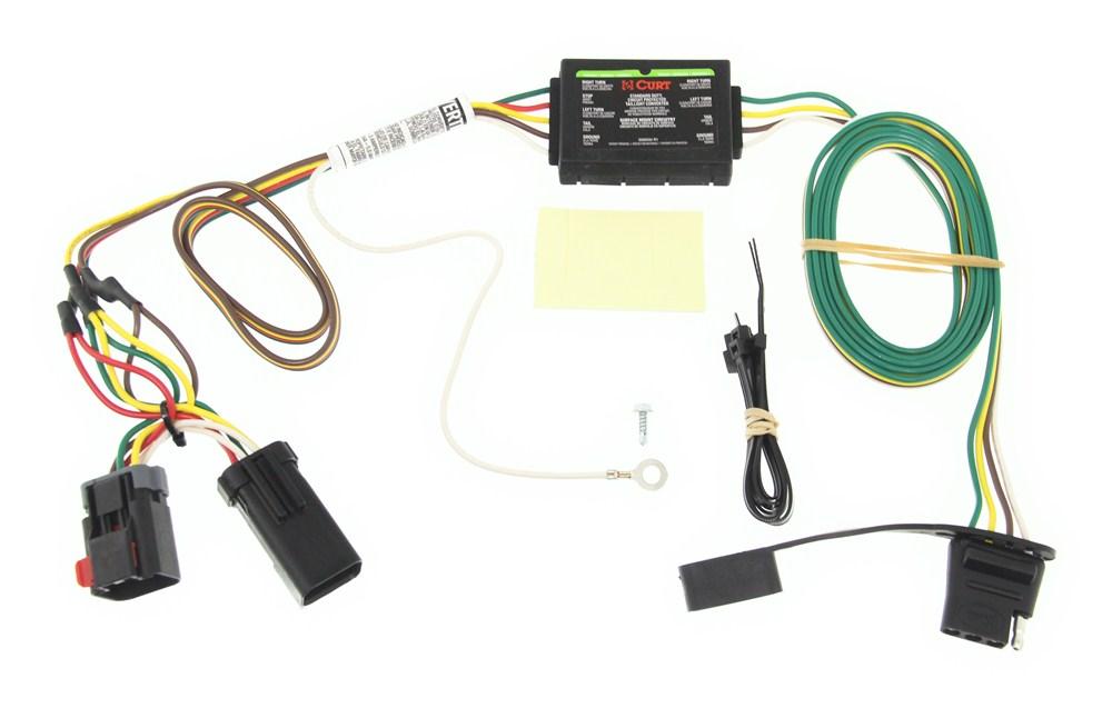 C55376 - Converter Curt Custom Fit Vehicle Wiring