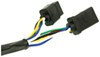 curt custom fit vehicle wiring fifth wheel and gooseneck 5th wheel/gooseneck harness w/ 7-pole connector - 10' long