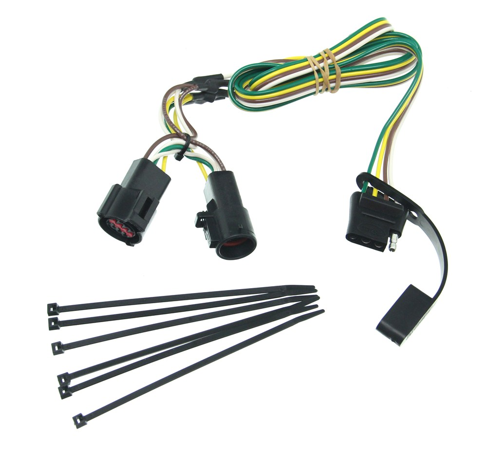C56031 - No Converter Curt Trailer Hitch Wiring