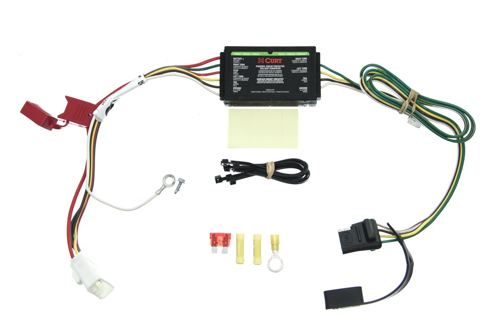2010 Mitsubishi Endeavor Curt T-Connector Vehicle Wiring ...