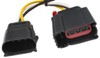 Curt T-Connector Vehicle Wiring Harness with 4-Pole Flat Trailer Connector Custom Fit C56133