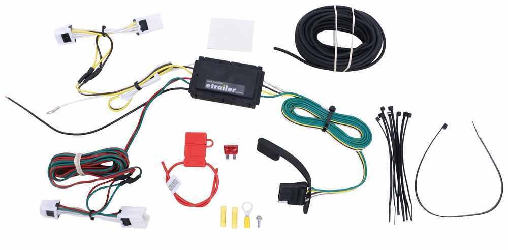 Custom Fit Vehicle Wiring C56148 - 4 Flat - Curt