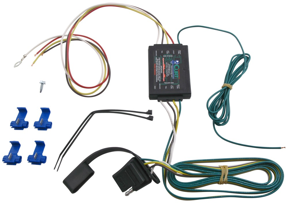 C56175 - 4 Flat Curt Trailer Connectors