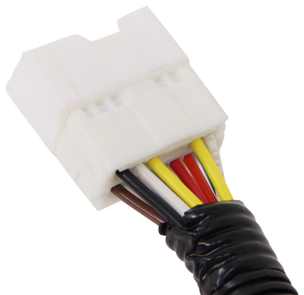 Curt Manufacturing 56225 Black Custom Wiring Connector